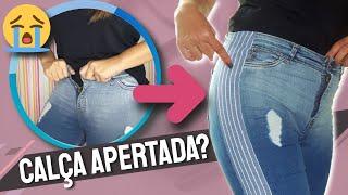 Como Alargar Calça Jeans Apertada
