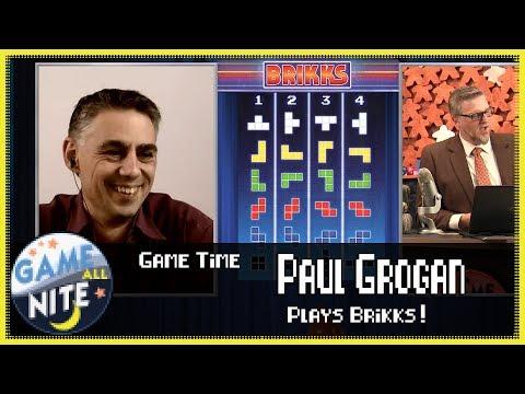 Game Time! - Brikks With Paul Grogan