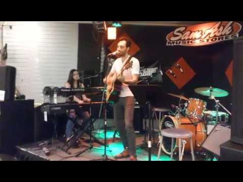 The Killers - Human (Acoustic Cover at Sam Ash Atlanta)