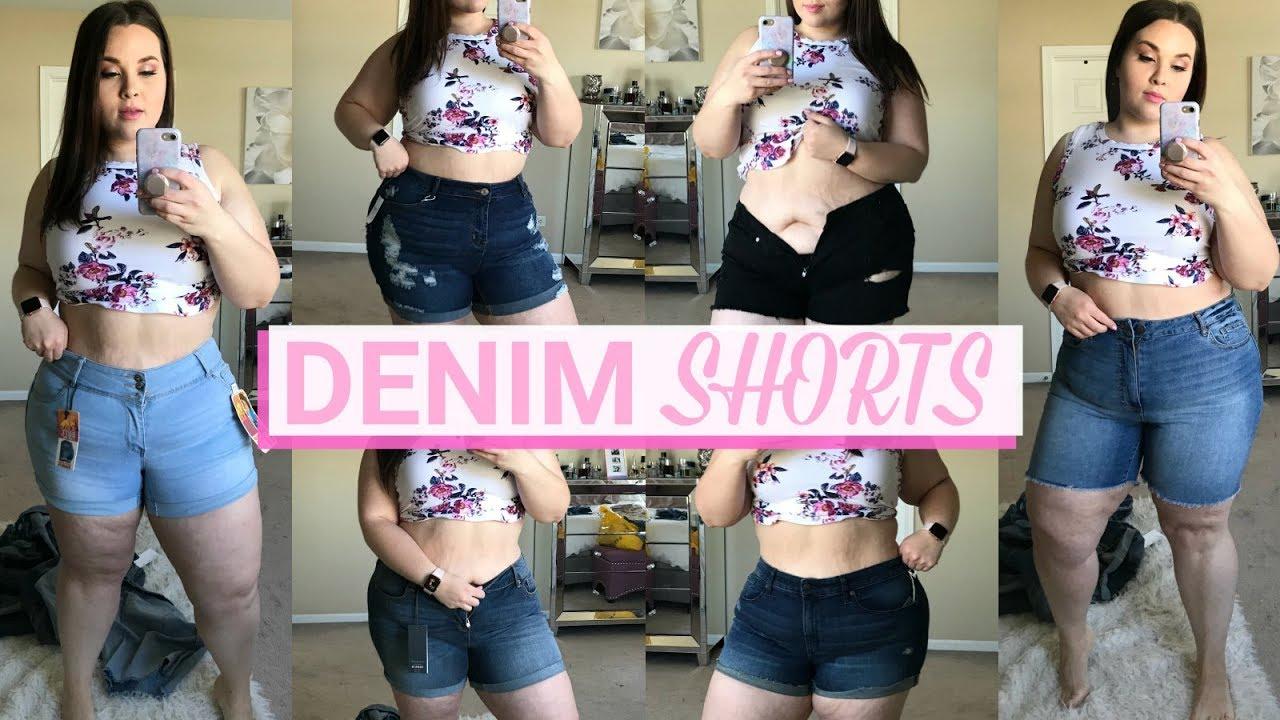 8671bbebaf2 The BEST Plus Size Denim Shorts