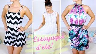 Lufy- Essayages Vêtements: Commande d'été - Shein!