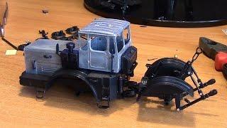 Сборка модели трактора Кировец К 701 АВД