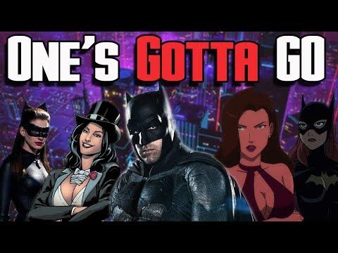 Batman (Bruce Wayne) Love Interests! Catwoman, Talia al Ghul, Zatanna, & Batgirl | One