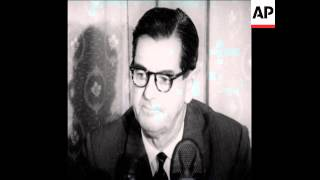 CAN 167 PRIME MINISTER OF RHODESIA PRESS CONFERENCE