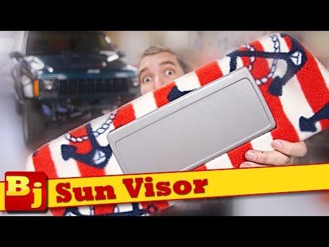 How-To Custom Sun Visor