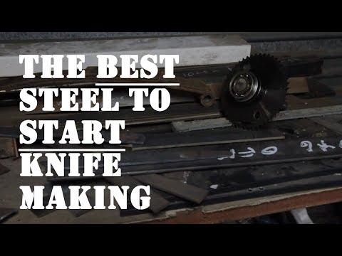 Steel For Making Knives Australia: The Best Steel For Beginners!!