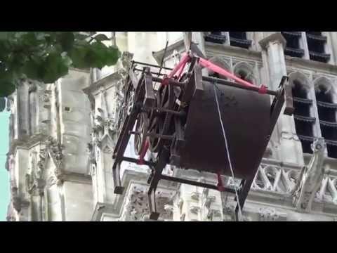 Le carillon de la cathédrale de Rouen - mai 2015 - vnr.fr