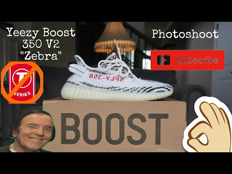 """Yeezy Boost 350 V2 """"Zebra"""" Photoshoot 2019"""