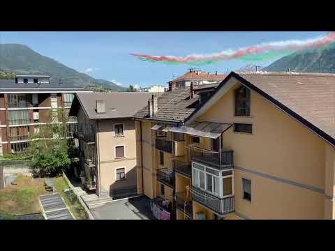 Frecce Tricolori Ad Aosta  - I Video Dei Nostri Lettori