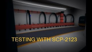 [ARC-190] [Roblox] test con SCP-2123