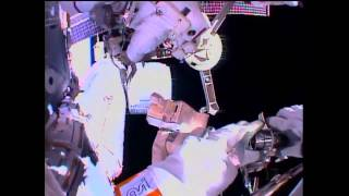 ISS Astronauts Perform Spacewalk | NASA Space Science HD Video
