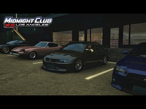 Midnight Club: LA (Xbox One) | JDM Squad Car Meet - Street Racing (Digs/Rolls) w/ Evo, S14, RX7, +
