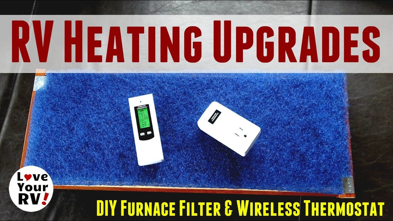 Rv Wireless Thermostat Wire Center Duo Therm Replacement Heating Upgrades Diy Furnace Filter And Rh Youtube Com Dometic