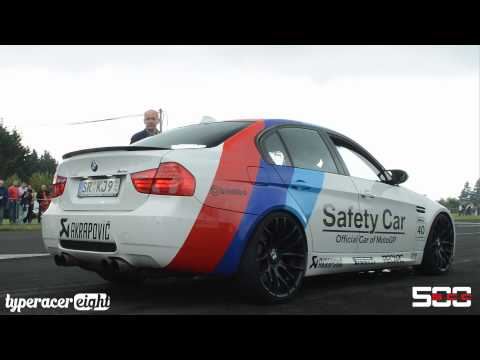 G-Power BMW M3 E90 Safety Car w/ Akrapovic Exhaust!