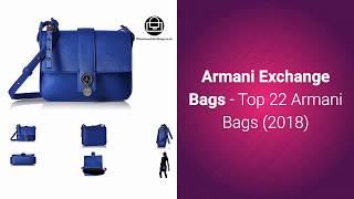 Armani Exchange Bags - Top 22 Armani Bags (2018)