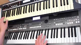 Electric Avenue Eddy Grant  Yamaha PSR s670 Korg x50 Style Demonstration Cover