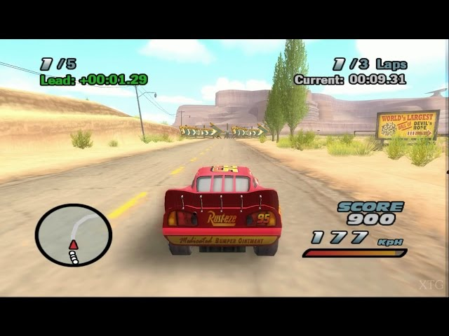 Cars PS2 Gameplay HD (PCSX2)