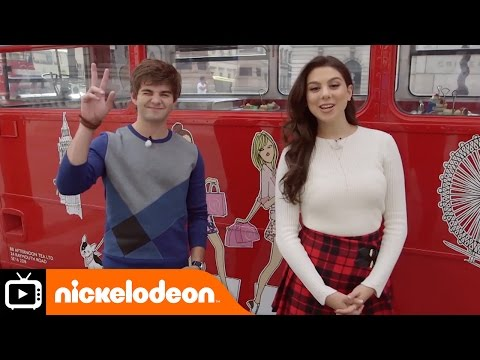 Jack and Kira in London Part 1 | Nickelodeon UK