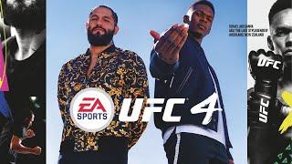 UFC 4 Cover Athletes Are Israel Adesanya, Jorge Masvidal - MMA FIghting