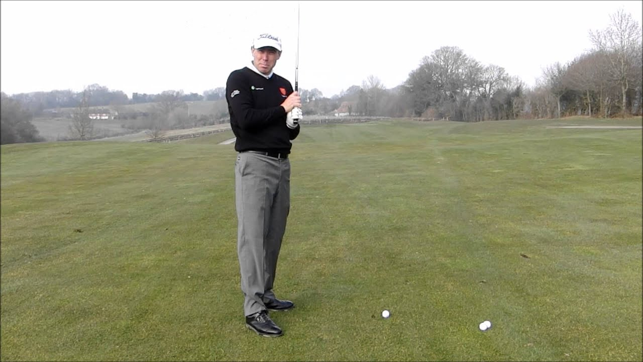 How to Hit the Golf Ball without Slicing - YouTube