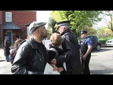 Confrontation at a Marie Stope Clinic - London