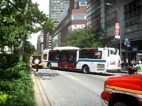 MANHATTAN BUS ACCIDENT WEST 66TH & BROADWAY