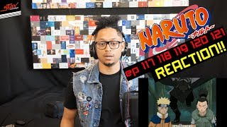 Super Reaction! First Time watching Naruto 117 118 119 120 121