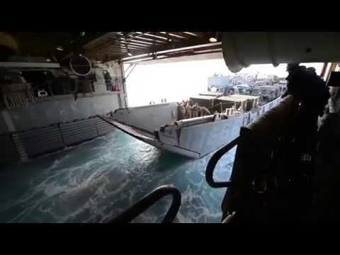 USS Denver Well Deck Operations