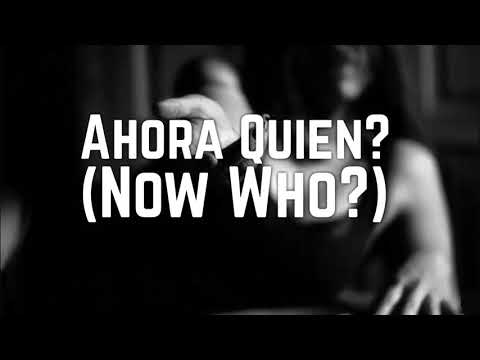 Ahora Quien? (English Subtitles) Ballad Version by Marc Anthony