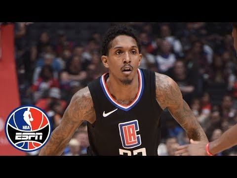 Why did Lou Williams sign contract extension with Clippers? | NBA Countdown | ESPN