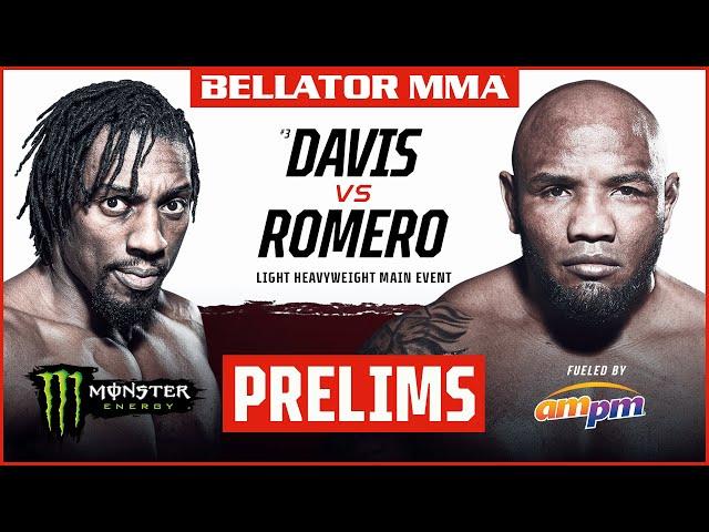 BELLATOR MMA 266: Davis vs. Romero | Monster Energy Prelims fueled by ampm | INT