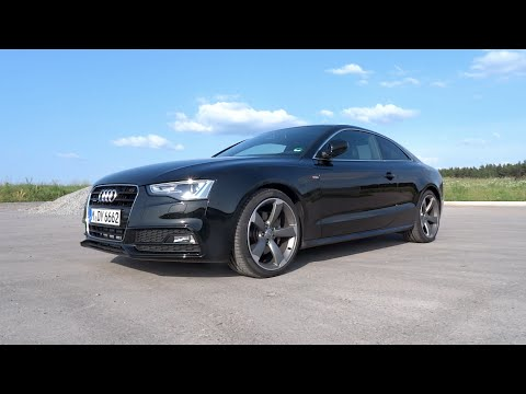 2015 Audi A5 Coupe 3.0 V6 TDI quattro S line Start-Up and Full Vehicle Tour