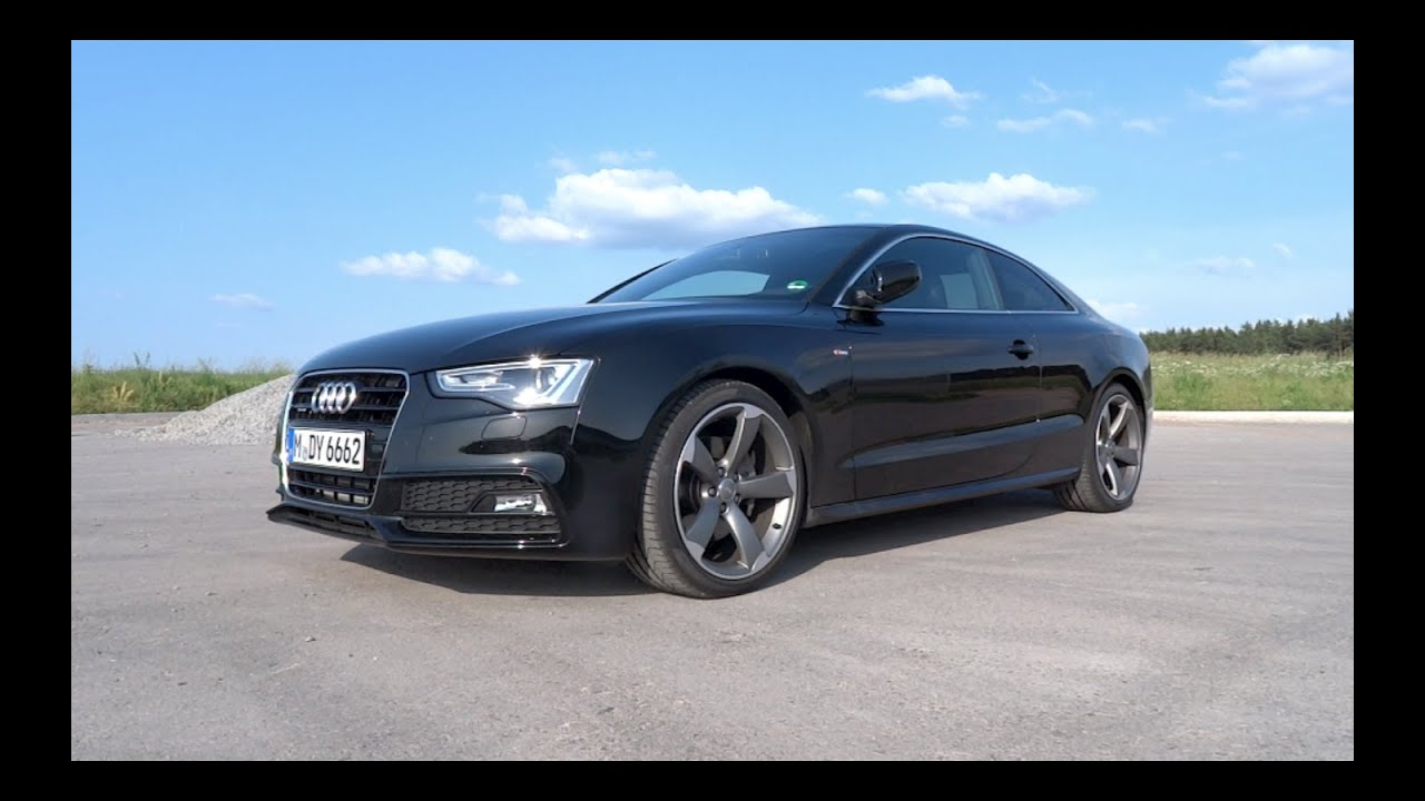 2015 audi a5 coupe 3 0 v6 tdi quattro s line start up and. Black Bedroom Furniture Sets. Home Design Ideas