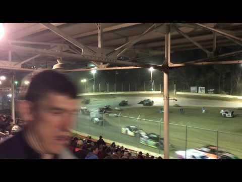 Highland Speedway 4-8-17 grandstand view