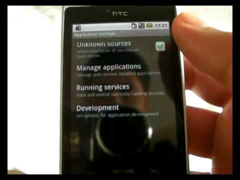 Android 2.2 Froyo on HTC Hero