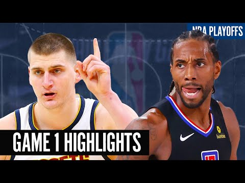 NUGGETS vs CLIPPERS GAME 1 | 2019 - 20 NBA PLAYOFFS