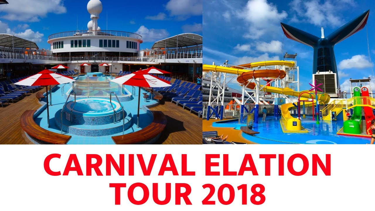 Carnival Elation Ship Tour 2018 Youtube