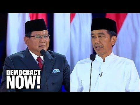 Allan Nairn: Indonesian General Tied to Mass Killings Plots to Arrest Critics If He Wins Presidency