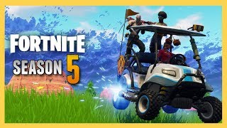Fortnite Season 5 Skins, Dances, ATK Kart & more! | Swiftor