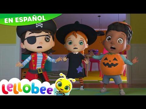 Canciones Infantiles   No No Monstruos Espeluznantes   Dibujos Animados   Little Baby Bum En Español