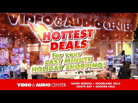 Get the Hottest Holiday Deals NOW at Video & Audio Center #2!