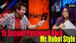 Gambar cover 15 Second Password Hack, Mr. Robot Style - Hak5 2101