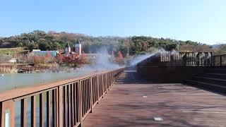 [안개핀조경]남구 물빛근린공원 쿨링포그 시공