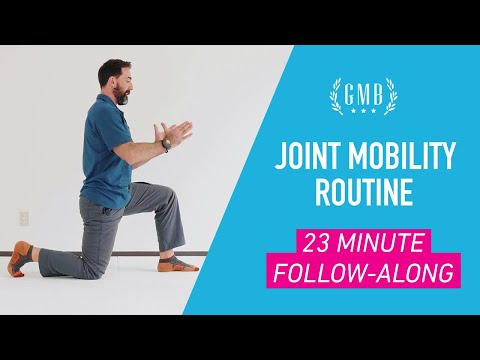 Joint Mobility Routine (20-minutes, Follow Along At Home)