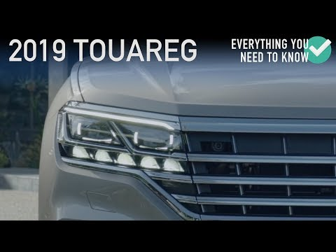 2019 VW Touareg Revealed at Beijing Motor Show | Stable Lease