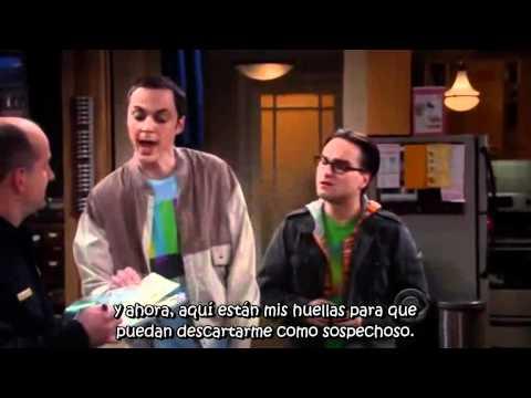 The Big Bang Theory - Sheldon and the Police Report - Subtitulado Español