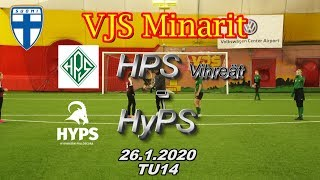 VJS Minarit TU14 HPS Vihreä vs HyPS 06/07 26.1.2020