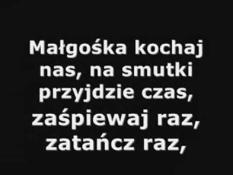 Maryla Rodowicz - Małgośka  nie karaoke tekst napisy słowa