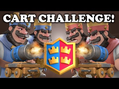 Thumbnail: Cannon Cart Gameplay in 2v2 Draft Challenge | Clash Royale