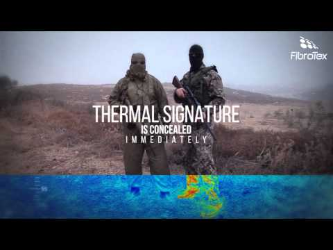 Fibrotex Technologies Nightwalker Thermal Camouflage Suit
